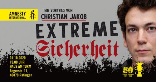"""Vortrag """"Extreme Sicherheit"""""""