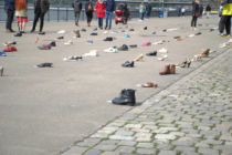 Schuhaktion Istanbul-Konvention (Detail)