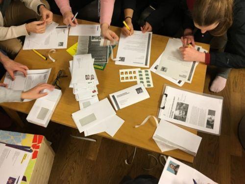 Bücherbummel 2019 - Unterschriftenaktion