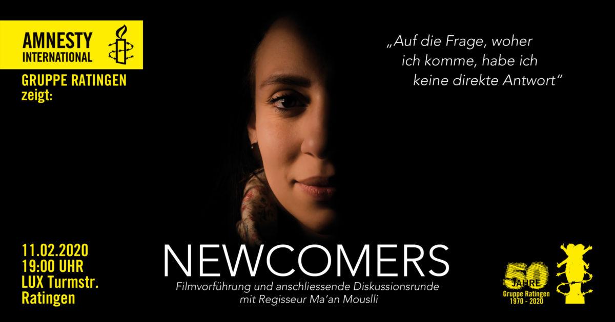 Newcomers - Filmvorführung Einladung
